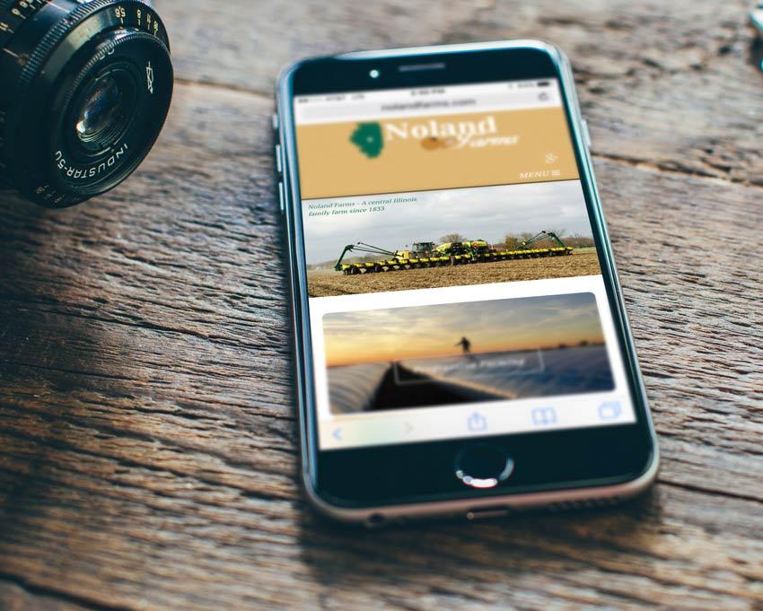 Noland Farms iPhone